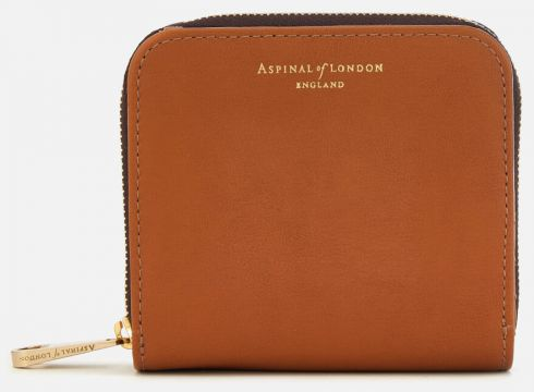 Aspinal of London Women\'s Mini Continental Purse - Tan(89035547)