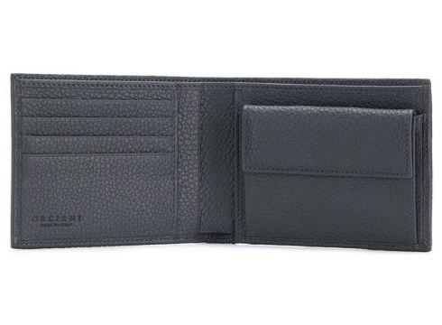 Orciani portefeuille à plaque logo - Gris(76609324)