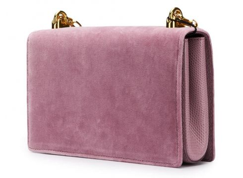Dolce & Gabbana sac porté épaule DG Girls - Rose(76522752)
