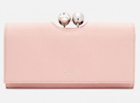 Ted Baker Women\'s Solange Pave Bobble Matinee Wallet - Dusky Pink(89244970)