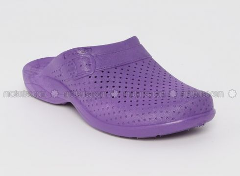 Purple - Sandal - Slippers - Gezer(110328619)