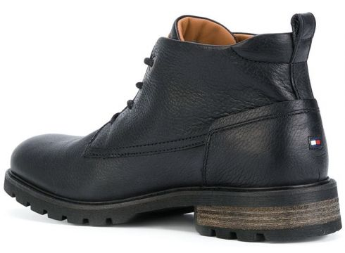 Tommy Hilfiger bottines à lacets - Noir(76481289)