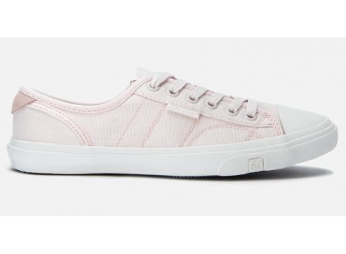 Superdry Women\'s Low Pro Canvas Trainers - Rose Pink - UK 3 - Rosa(90302230)