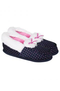 Twigy Lacivert Kadın Ev Ayakkabısı(105108471)
