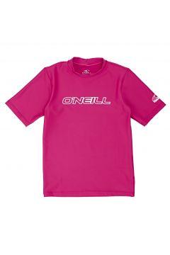 O\'Neill Basic Skins Short Sleeve Mädchen Rash Vest - Watermelon(100258314)