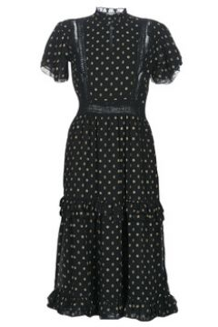 Robe Maison Scotch PARTY DRESS WITH RUFFLES AND LACE PANELS(115526192)