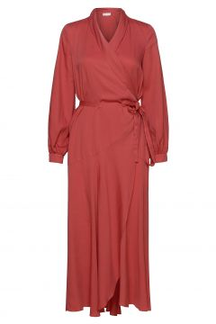 Olivia Wrap Dress Kleid Knielang Rot STORM & MARIE(116951482)