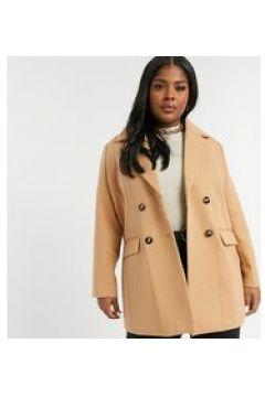 Fashion Union Plus - Cappotto doppiopetto-Beige(122835501)