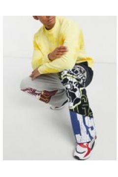 Jaded London - Coordinato pantaloni e felpa stile college-Multicolore(120750109)
