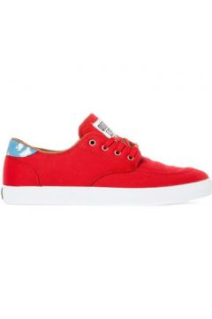 Chaussures Lakai BELMONT red canvas collab quiet life(115441109)