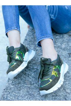 Chaussures De Sport Crash Kaki(119070826)