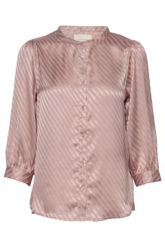 Amalie Shirt Bluse Langärmlig Pink LOLLYS LAUNDRY(114154046)