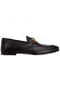 Men's leather loafers moccasins(122988175)