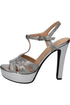 Sandales Allison sandales argent textile BZ304(88470289)