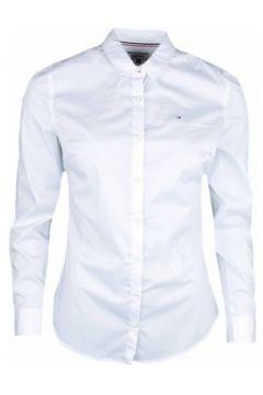 Chemise Tommy Jeans Chemise ultra fine blanche pour femme(115399706)