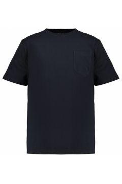 Adamo Fashion: Basic T-Shirt mit Brusttasche, 8XL, Dunkelblau(121717520)