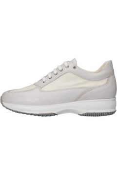 Chaussures Saben Shoes sneakers blanc cuir textile AJ210(115399873)