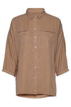 Shirt Langärmliges Hemd Braun SOFIE SCHNOOR(114157870)