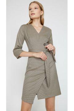 Koton Kadın Dügme Detayli Elbise(118027008)