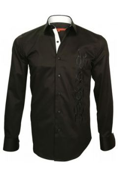 Chemise Andrew Mc Allister chemise brodee etnica noir(115424000)