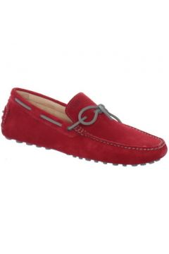 Chaussures Baxton Chaussure bateau ref_bomends35163-rouge(115556223)