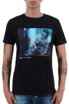T-shirt Ko Samui Tailors Keith Richards T-Shirt Noir KSUTT401KEITHBLK(127969098)