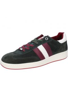Chaussures D\'acquasparta sneakers vert daim AB870(88470134)