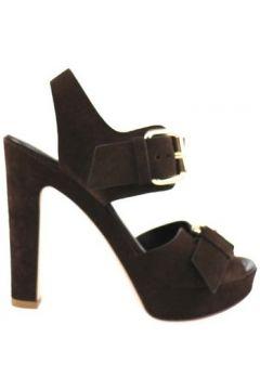 Sandales Lella Baldi sandales brun foncé daim ap827(115443199)