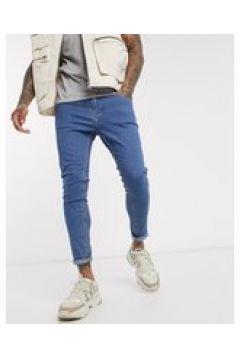 Bershka - Jeans super skinny blu medio(124790552)