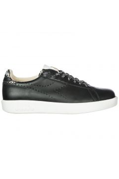 Women's shoes leather trainers sneakers game h(118071401)