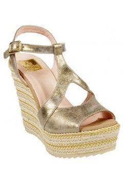 Sandales Kanna Compensées Elle Bronze(127891888)
