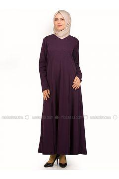 Purple - Unlined - Dresses - NAKŞİN(110339536)