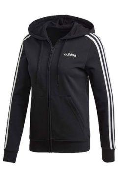 Sweat-shirt adidas W E 3S FZ HD GIACCHETTO NERO(115478326)