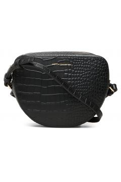 Tallin Croc Hlf Moon Crossbody Bags Small Shoulder Bags - Crossbody Bags Schwarz FRENCH CONNECTION(114166026)