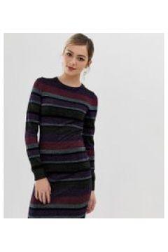 Oasis - Vestito a fascia a righe-Multicolore(120302635)