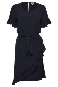 Alisa Dress Kleid Knielang Blau TWIST & TANGO(114164543)