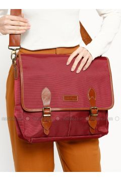 Maroon - Shoulder Bags - Ottobags(110318551)