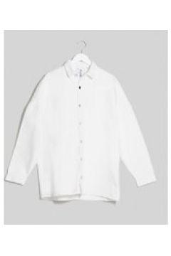 COLLUSION - Camicia di jeans oversize bianca-Bianco(120273687)