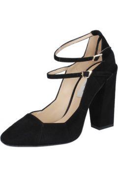 Chaussures escarpins Gianni Marra escarpins noir daim BY821(115401598)