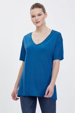 Loft LF 2023149 Sax Blue T-Shirt(126443358)