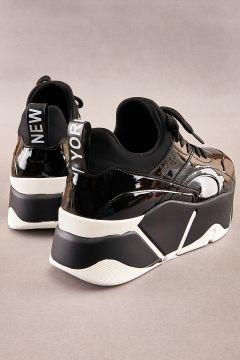 Bambi Siyah Kadın Sneaker(124426779)