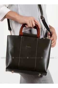 Khaki - Shoulder Bags - Efem(110340264)