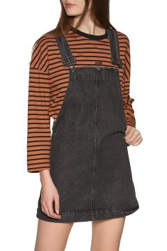Robe Afends Mae Denim Overall - Stone Black(114346807)