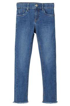 NAME IT Cropped Skinny Fit Jeans Damen Blau(109070138)