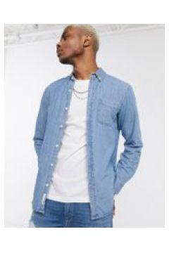 Pull&Bear - Camicia di jeans blu medio(120254724)