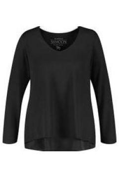 Blusenshirt in A-Linie Samoon Black(120113558)