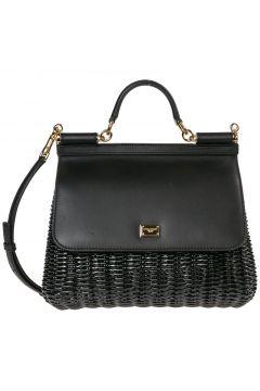 Women's leather handbag shopping bag purse sicily(118074133)
