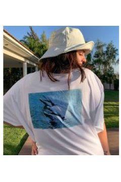 New Girl Order Curve - Vestito T-shirt con delfini sul retro-Bianco(120332379)