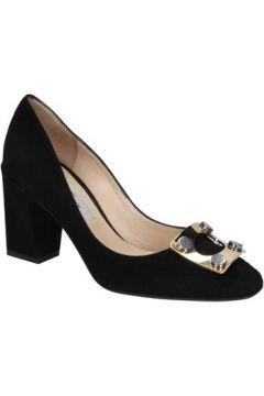 Chaussures escarpins Gianni Marra MARRA escarpins noir daim BX78(98483799)