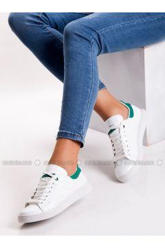 Green - White - Sport - Sports Shoes - MODA AYAKKABI(110315417)